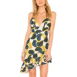 C/MEO Temptation Mini Dress Blush Paisley Size M